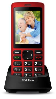 Mobilní telefon CPA Halo Plus Red