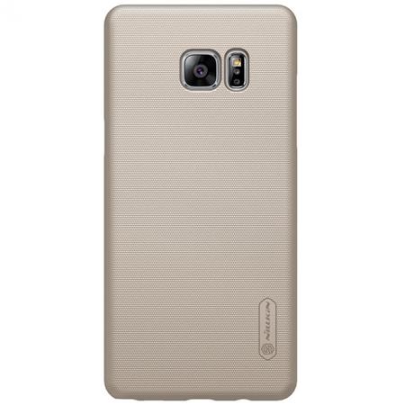 Zadní kryt Nillkin Super Frosted pro Samsung N930 Galaxy Note 7 Gold