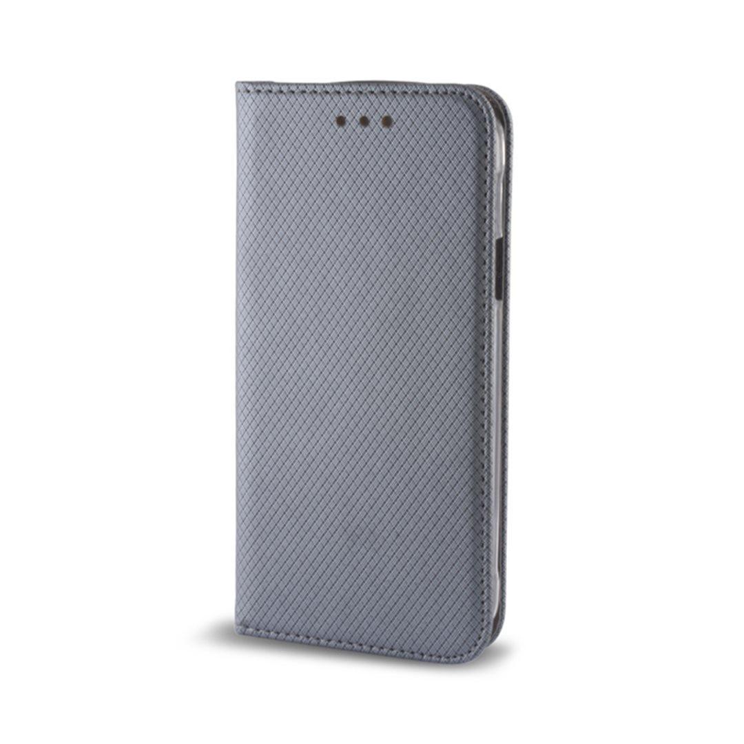 Smart Magnet flipové pouzdro Samsung Galaxy Xcover 4 steel