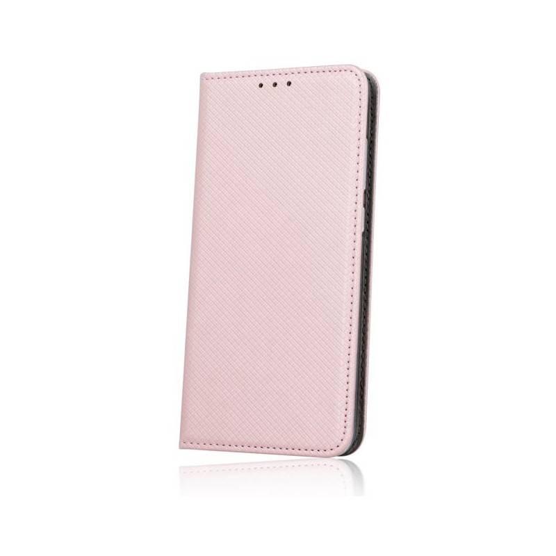 Smart Magnet flipové pouzdro LG K8 2017 rose gold
