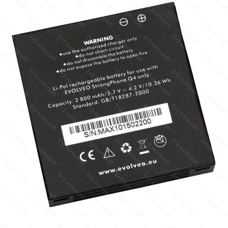 Baterie Evolveo StrongPhone Q4 Li-Pol 2800 mAh