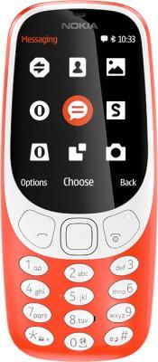 Mobilní telefon Nokia 3310 Dual SIM Red