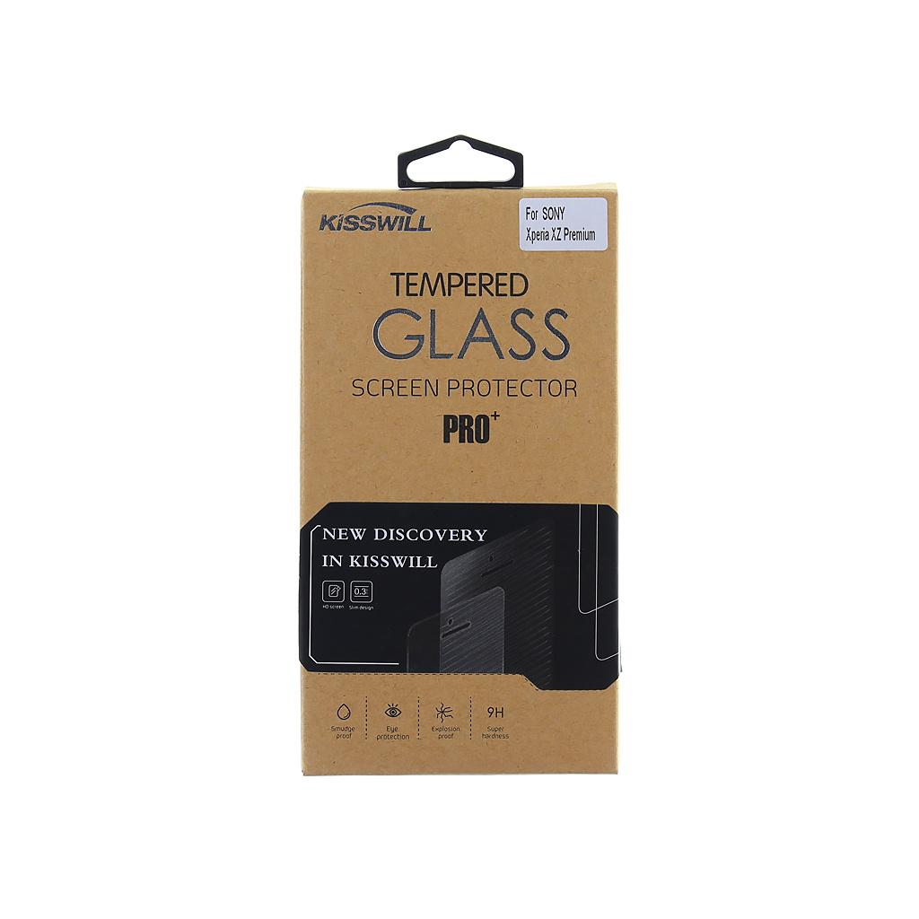 Tvrzené sklo Kisswill pro Sony Xperia XZ Premium