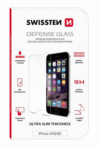 Tvrzené sklo SWISSTEN Huawei Y7 RE 2,5D