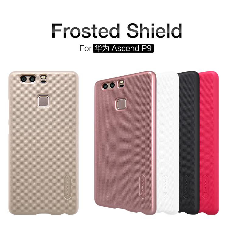 Nillkin Super Frosted Zadní Kryt Black pro Huawei P9