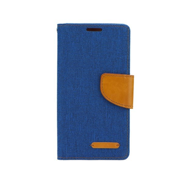 Canvas Diary flipové pouzdro LENOVO K6 Note blue
