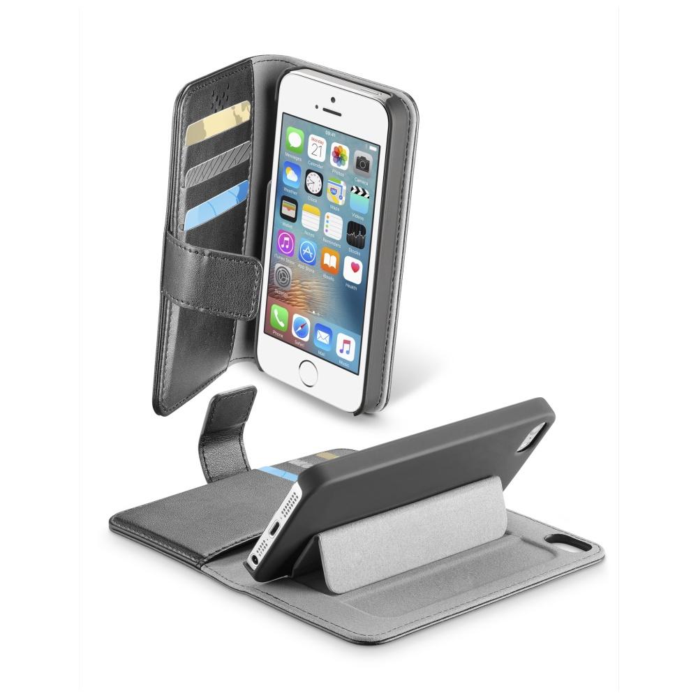CellularLine Book Agenda pouzdro flip Apple iPhone X black