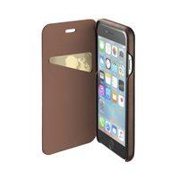 CellularLine Book Essential flipové pouzdro Apple iPhone X brown