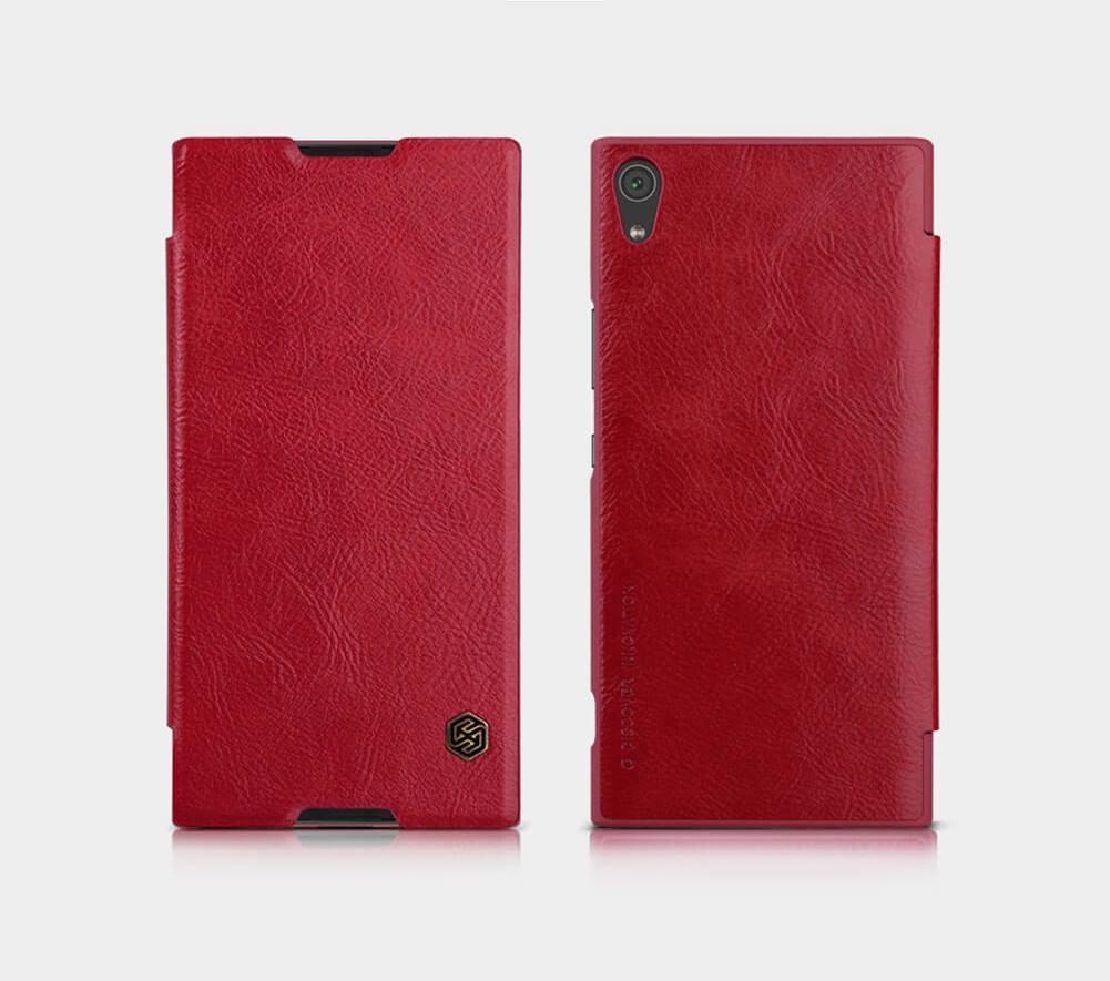 Nillkin Qin Book flipové pouzdro Sony Xperia XA1 red