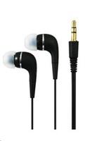 PLUS stereo sluchátka K2500 3,5 mm jack black