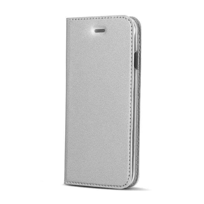 Smart Platinum pouzdro flip Apple iPhone 5/5s/SE silver