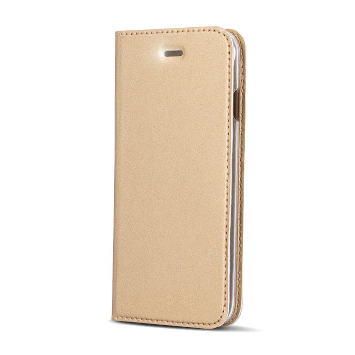 Smart Platinum pouzdro flip Apple iPhone 5/5s/SE gold