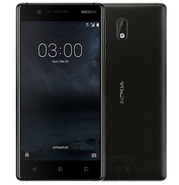 Nokia 3 BlackZDARMA Protiskluzová podložka pro mobilní telefony v hodnotě 199 Kč. + DOPRAVA ZDARMA