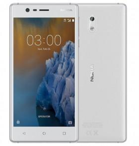 Mobilní telefon Nokia 3 White / Silver
