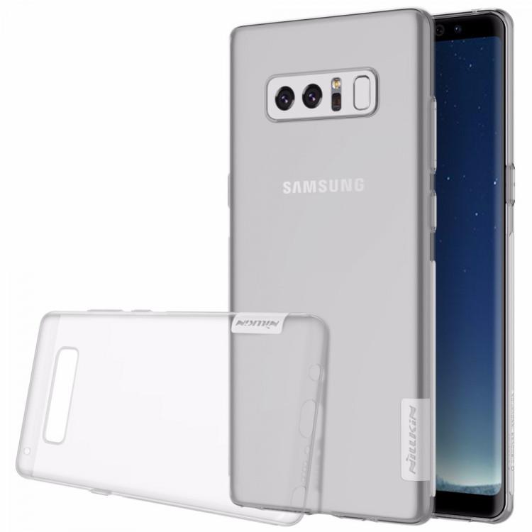 Nillkin Nature silikonové pouzdro pro Samsung Galaxy Note 8, transparent