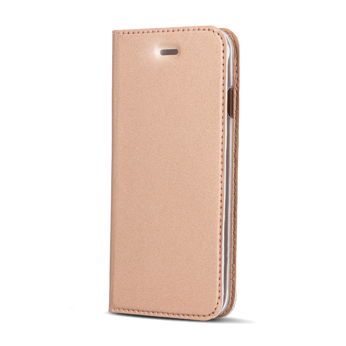 Smart Platinum pouzdro flip Samsung Galaxy J3 2016 rose gold