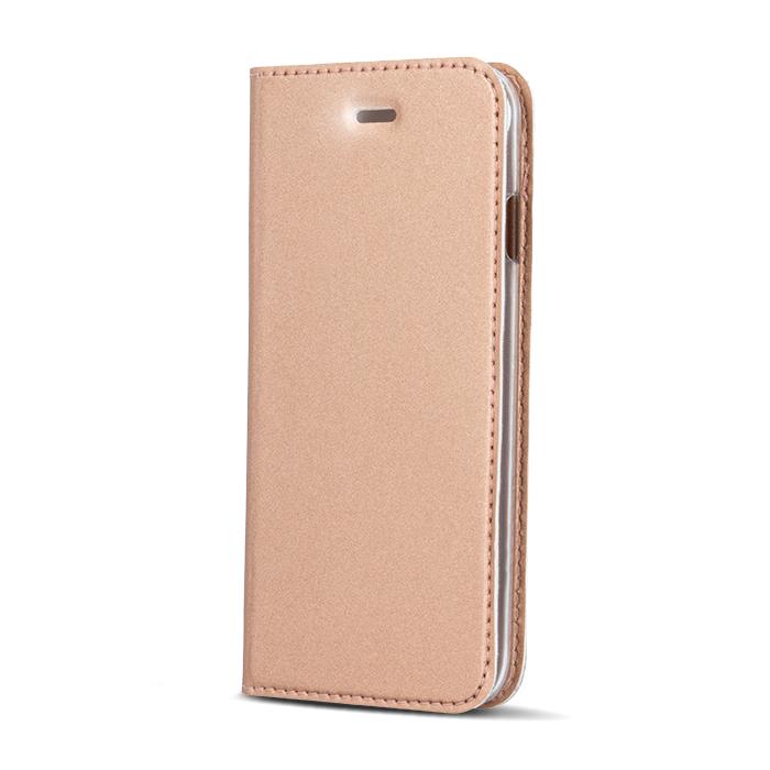 Smart Platinum pouzdro flip Samsung Galaxy A3 2016 rose gold