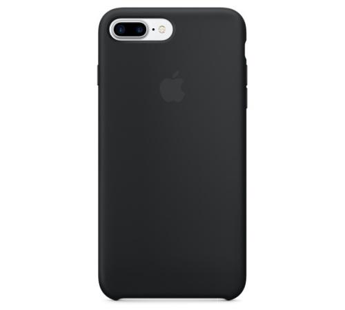 Silikonový ochranný kryt Apple pro iPhone 7 PLUS, černá