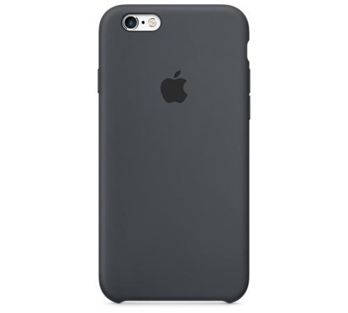 Silikonový ochranný kryt Apple pro iPhone 6, 6S PLUS, uhlově šedá