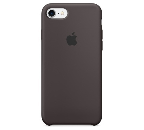 Silikonový ochranný kryt Apple pro iPhone 7, kakaově hnědá