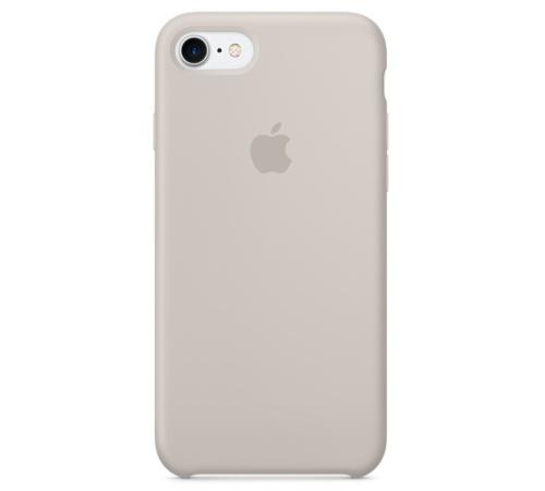 Silikonový ochranný kryt Apple pro iPhone 7, kamenně šedá