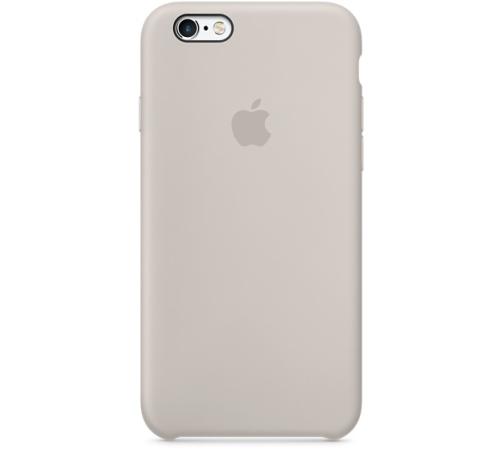 Silikonový ochranný kryt Apple pro iPhone 6, 6S, kamenně šedá