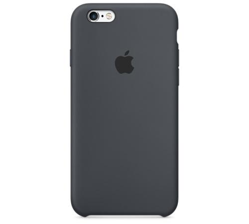 Silikonový ochranný kryt Apple pro iPhone 6, 6S, uhlově šedá