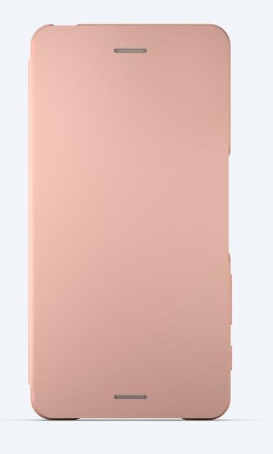 Sony Style Cover Flip SCR58 Sony Xperia X Performance rose gold