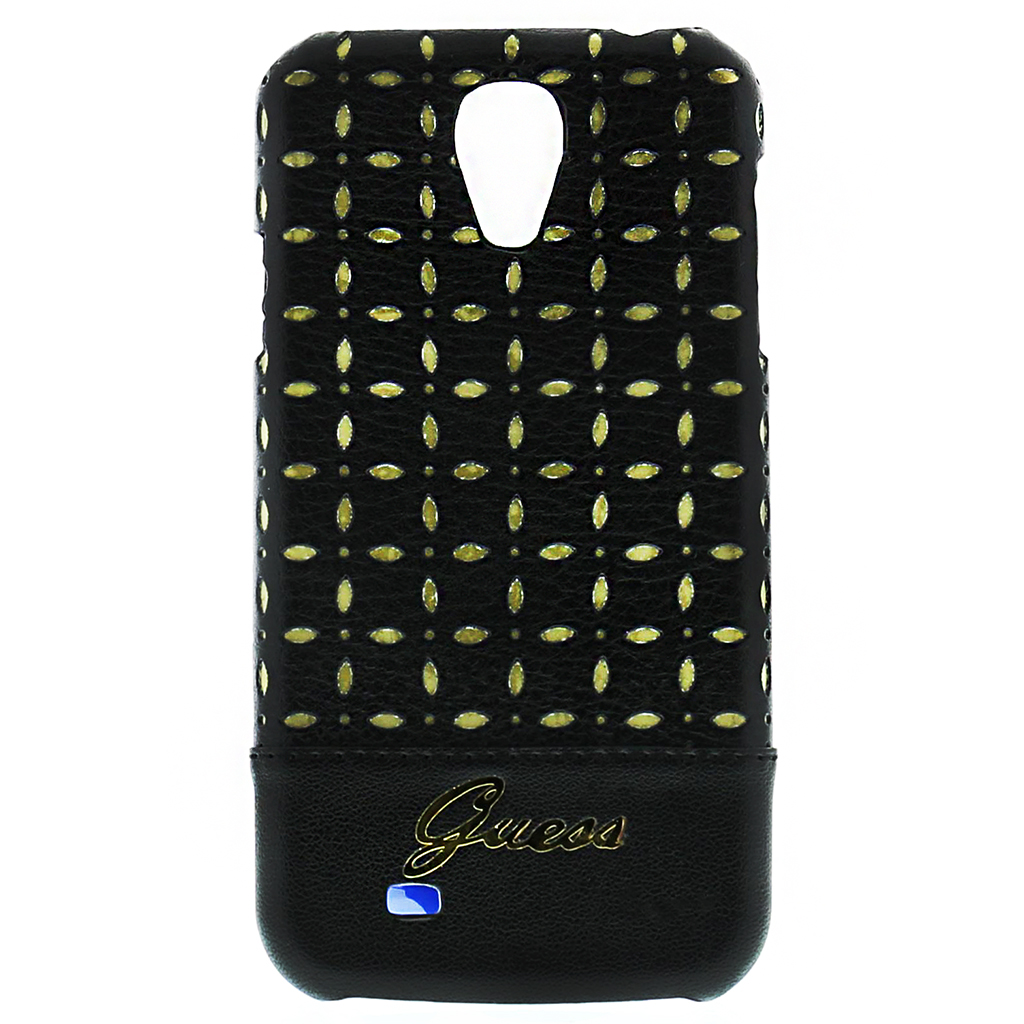 GUHCS4PEB Guess Gianina Zadní Kryt Samsung S4 Black (EU Blister)