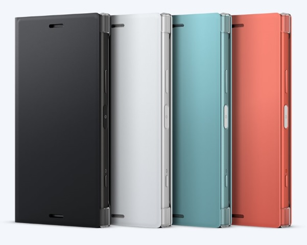 Sony Style Cover Flip SCSG60 Sony Xperia XZ1 Compact white