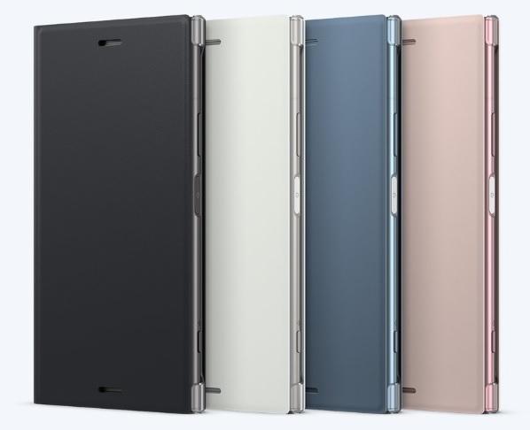 Sony Style Cover Flip SCSG50 Sony Xperia XZ1 black