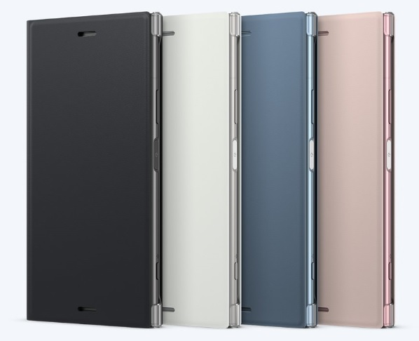 Sony Style Cover Flip SCSG50 Sony Xperia XZ1 silver
