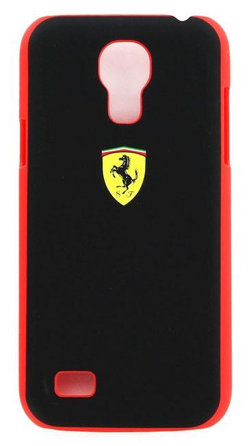 Zadní kryt Ferrari Rubber pro Samsung S4 mini Black/Red