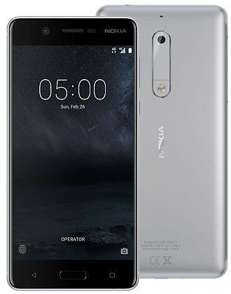 Nokia 5 Silver SingleSIMZDARMA Protiskluzová podložka pro mobilní telefony v hodnotě 199 Kč. + DOPRAVA ZDARMA