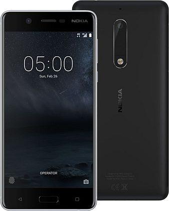 Nokia 5 Black SingleSIMZDARMA Protiskluzová podložka pro mobilní telefony v hodnotě 199 Kč. + DOPRAVA ZDARMA