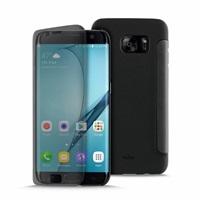 Puro Sense Booklet flipové pouzdro Samsung Galaxy S7 Edge black