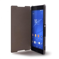 Puro Sense Booklet flipové pouzdro Sony Xperia Z3 Plus transparent