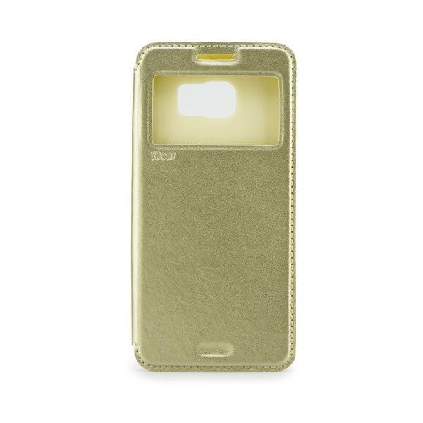 Roar Noble View flipové pouzdro SAMSUNG Galaxy Grand Neo gold