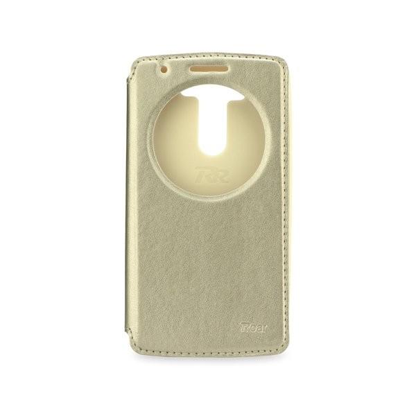 Roar Noble View flipové pouzdro LG G3 Mini gold
