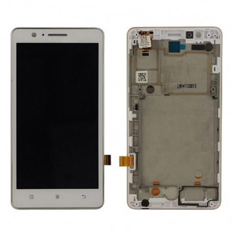 LCD + dotyková deska + rámeček Lenovo A536 White