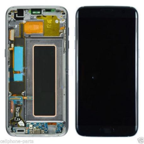 LCD displej + dotyková plocha + rámeček Samsung S7 Edge Black