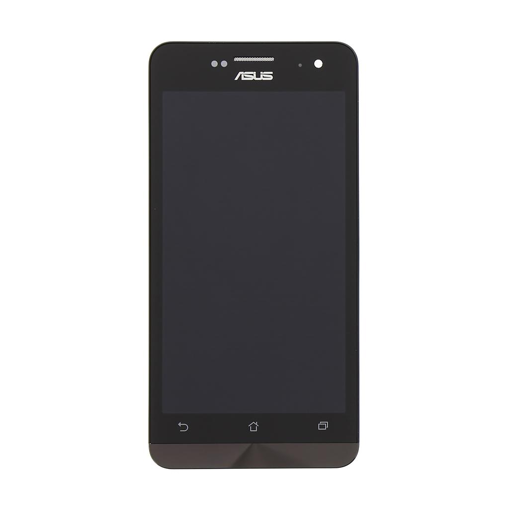 LCD displej + dotyk + přední kryt Asus ZenFone 5 black