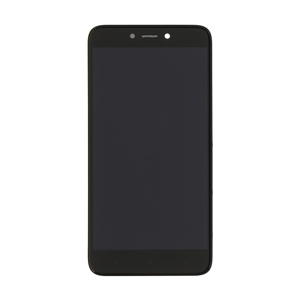 LCD + dotyk + přední kryt pro Xiaomi Redmi 4X, black