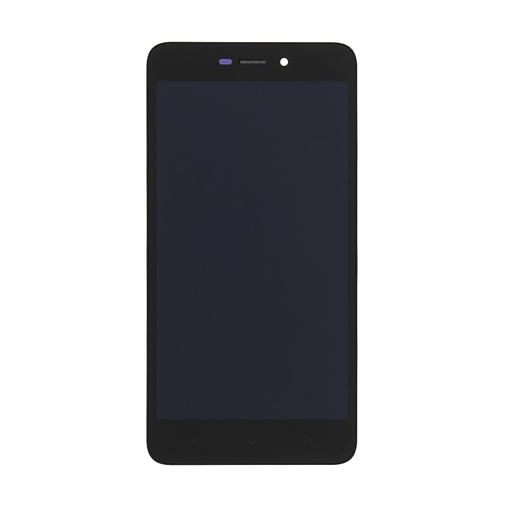 LCD displej + dotyk + přední kryt pro Xiaomi Redmi 4A Black