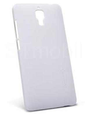 Nillkin Super Frosted zadní kryt + fólie pro LG Q6 White