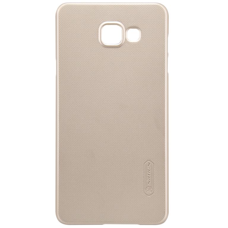 Nillkin Super Frosted zadní kryt + fólie pro LG Q6 Gold