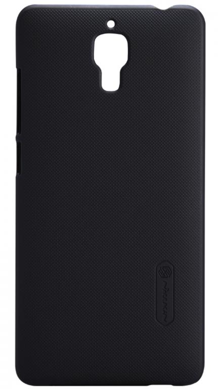 Nillkin Super Frosted zadní kryt + fólie pro LG Q6 Black