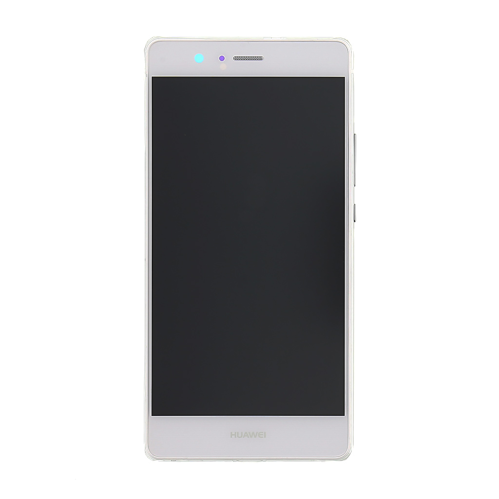 LCD + dotyk + přední kryt Huawei P9 Lite White (Service Pack)