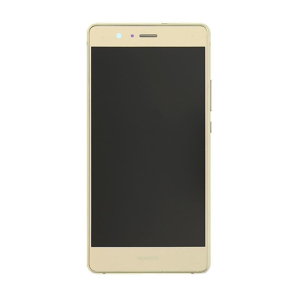 LCD + dotyk + přední kryt Huawei P9 Lite Gold (Service Pack)