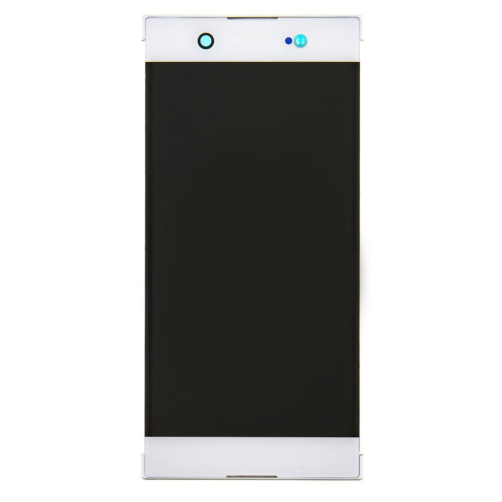 LCD + dotyk + př. kryt Xperia XA1 Ultra White (Service Pack)